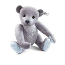 Björn, grå filt