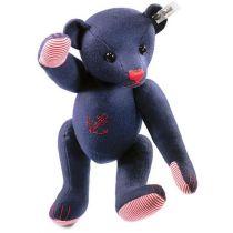 Filtbjörn i blått