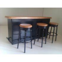 Bar inkl. 3 barstolar