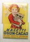 Reklamskylt Mazetti