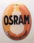 Reklamskylt Osram