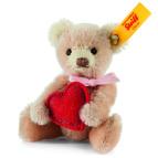 Mini Teddy Bear med hjärta