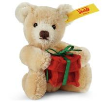 Minibjörn med present