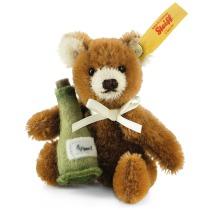 Minibjörn med sektflaska