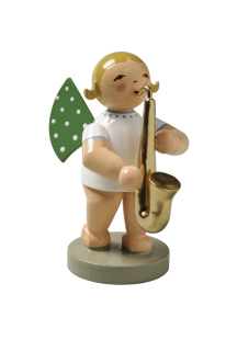 Ängel med saxofon